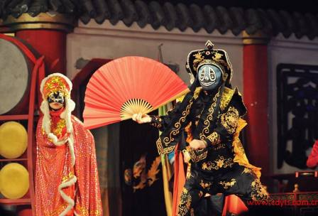 成都蜀风雅韵川剧变脸晚会门票预定Chengdu Sichuan Opera Mask-Changing Show and Ticket Booking