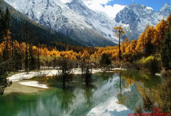【经典懒游】成都到毕棚沟、羌乡藏寨、雪山温泉美食汽车纯玩二日游