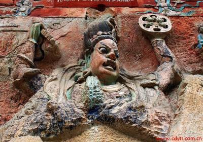 成都到重庆、大足石刻动车往返二日游、重庆旅游多少钱、重庆旅游线路报价