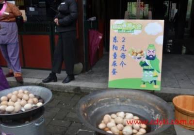 清明节奇葩习俗+美食大比拼:浙江童尿蛋